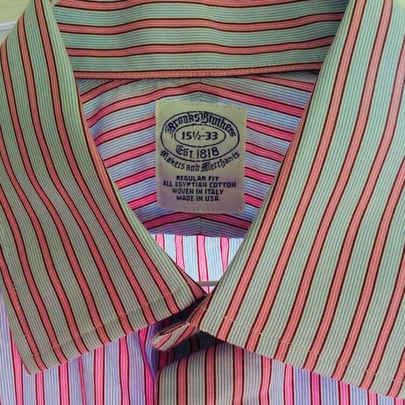 Brooks Brothers Other - BROOK BROTHERS EGYPTIAN COTTON DRESS SHIRT 15.5x33